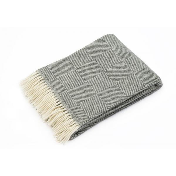 Værøy - scandinavian-norwegian wool blanket