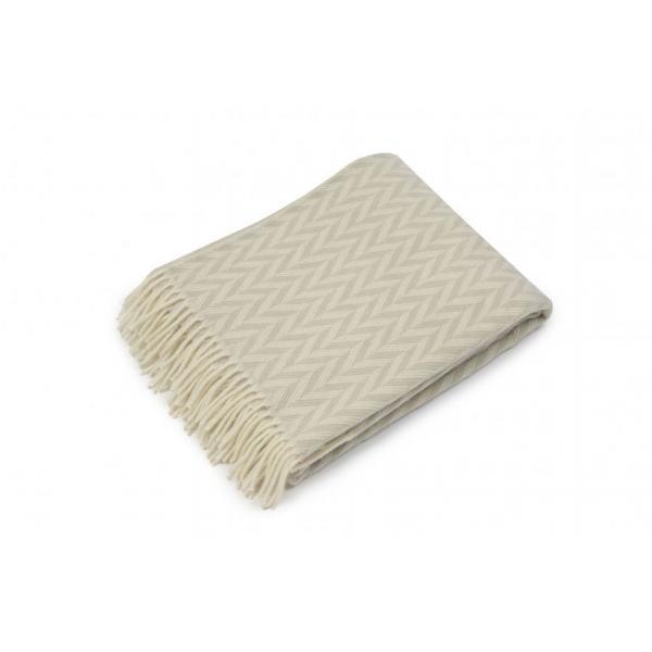 Aks natural - scandinavian-norwegian wool blanket