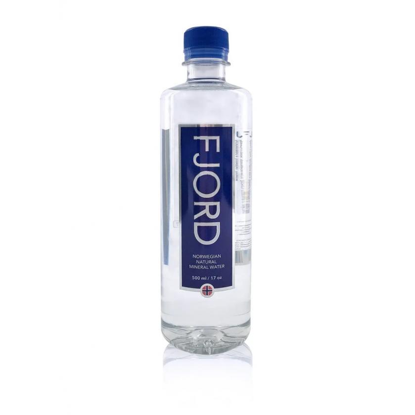 Norwegian Fjord Water in bottle